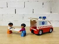 Vintage Ambulance Paramedic Stretcher LEGO Duplo Set