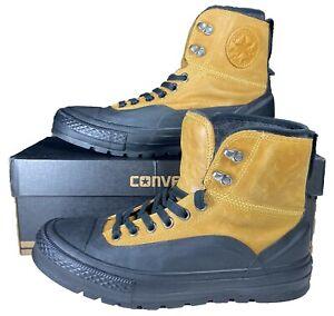 Converse Chuck Taylor Tekoa Boot Hi Leather 149380C Brown 9 Men