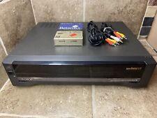 🔥Sony Sl-Hf2000 Super Beta Betamax HiFi Stereo Player Recorder Ex Rc Rare!🔥