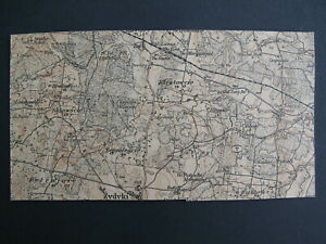 1918 LATVIA STAMPS, LETTLAND, PRINTED OF GERMAN MAP, 1 World War RUSSIA - Mi.# 1
