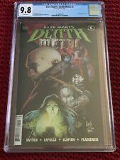 Dark Nights Death Metal #5-CGC 9.8-NM-1st Print-Scott Snyder-Greg Capullo-DC