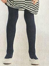 Kinderstrumpfhose, Franzoni, Mircofaser,Muster Rippe, schwarz, Größe 122-128