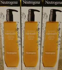 (3) Neutrogena Rainbath Refreshing Shower And Bath Gel - 40 ounces each