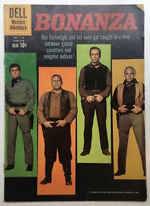 """1st BONANZA Comic """"1960"""" (Four Color #1110). VG+ 4.5 Dell"""