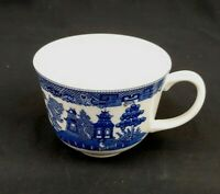 Johnson Brothers Blue Willow Cup Blue and White