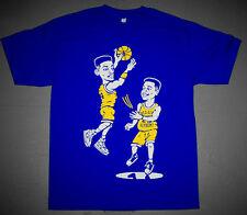 New Blue Yellow Will & Carlton Banks bel air basketball shirt  cajmear tee