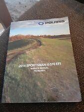 2014 Polaris Sportsman 570 Efi Service Workshop Repair Manual Factory New