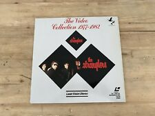 Rare Vintage LaserVision The Stranglers The Video Collection 77-82 Laser Disc
