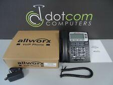 Allworx 9204g New Voip Display Ip Phone Poe 6x 10x 24x 8110045 Ac Pwr Free Shp
