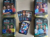 Match Attax 2019/20 19/20 50-150 card bundles + empty Mega Mini Tin