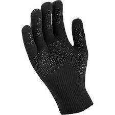 Sealskinz Ultragrip Gloves Black/Yellow Outdoors Camping Hiking Cycling