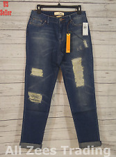 Dittos Asher Relaxed Straight Vintage Destructed Denim Women's Jeans 28 (E001)