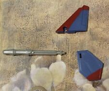 2007 TRANSFORMERS THUNDERCRACKER RIGHT TAIL FIN LEFT STABILIZER MISSILE PARTS