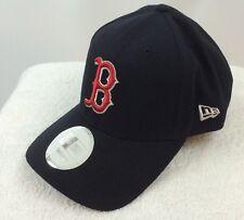 NEW - BOSTON RED SOX MLB, NAVY BLUE NEW ERA ADJUSTABLE BASEBALL CAP/HAT