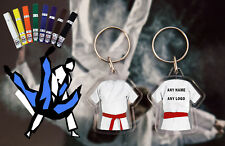 Personalised Judo - Karate - Ju Jitsu - Kickboxing double sided Red Belt