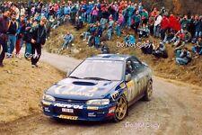 Colin McRae Subaru Impreza 555 Monte Carlo Rally 1995 Photograph 2