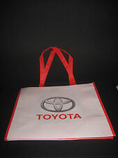 TOYOTA BAG WHITE AND RED CANVAS HANDBAG Accessories PROMOTIONAL