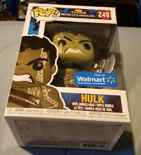 POP! MARVEL HULK NO HELMET WALMART EXCLUSIVE FUNKO THOR RAGNAROK BRAND NEW 249