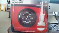 New Veethree Instruments 57898E Speedo 50 MPH Amega Domed Gauge