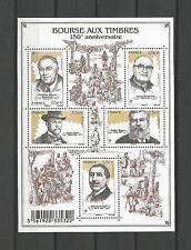 FRANCE 2010 - Miniature Sheet n° F4447 MNH ** Bourse aux Timbres 150 Anniversary