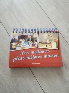 Livre cuisine chevalet Nos meilleurs plats mijotés maison 100 recette Flammarion