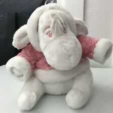 Eeyore snowball White Pink RARE plush Disney Store exclusive hoody jacket Pooh