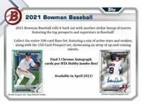 2021 Bowman Jumbo Half case (4 box) Pick Your Team  break #1 READ DESCRIPTION