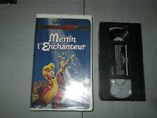 Walt Disney - Merlin L'enchanteur/ The Sword In The Stone (VHS)(French)  Teste