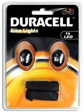 NEW DURACELL FRONT AND REAR BIKE NIGHT SAFE LIGHT