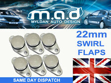 6 x BMW SWIRL FLAP BLANKING REPLACEMENT BUNGS 22MM 320 330 520 530 525 535 730D
