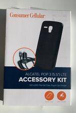 Consumer Cellular Alcatel Pop 3 (5.5'')LTE Accessory Kit . Brand New