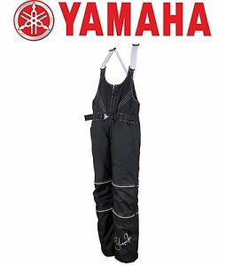 YAMAHA WOMEN'S ADVENTURE BIB BLACK SIZE LARGE-4X