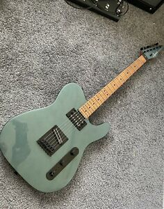 Squier Contemporary Telecaster RH Guitar By Fender Gunmetal Roasted Maple
