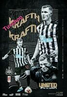 Newcastle United v Fulham PREMIER LEAGUE Programme 19/12/20 READY TO DISPATCH!!