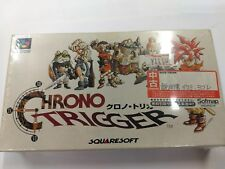 CHRONO TRIGGER SQUARE JAPAN NINTENDO SFC SUPER FAMICOM IMPORT BRAND NEW!