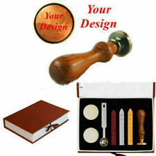 Custom Design Personalised Logo Wedding Party Invitations Wax Seal Stamp In Box