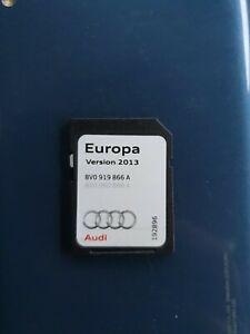 Genuine Audi A3 S3 RS3 SAT NAV 2013 MIB-S SD Card Europe 8V0 919 866 A