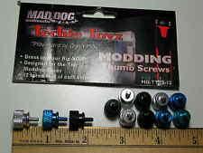 NIB 36 PCS Anodized aluminum computer thumb case screws 6-32  Mad Dog Multimedia