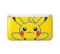 -Nintendo 3DS XL:Pikachu Pokémon Edition Yellow Handheld System Console NEW Seal
