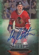 DARRYL SUTTER 2011-12 Parkhurst Champions Autograph Chicago Blackhawks