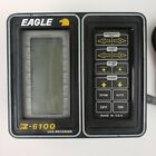 Eagle Z-6100 LCG Vintage Recorder Fish Finder Untested