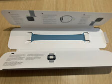 Genuine Apple Watch Strap 44mm Size 9 Northern Blue Solo Loop