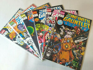 Marvel Infinity Gauntlet Issues  #1 - 6  (Complete Series) - Lot 1