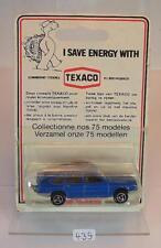 Majorette 1/60 Nr. 240 Simca 1308 Limousine Texaco Blister Verpackung OVP #439