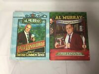 2x Al Murray Books Think Yourself British Book of British Common Sense