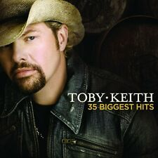 TOBY KEITH - 35 BIGGEST HITS; 2 CD  35 TRACKS COUNTRY BEST OF / COMPILATION NEU