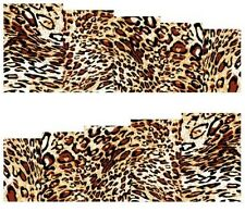 Nail Art Stickers Transfers Decals Leopard Print (A-110)