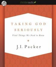 Taking God Seriously - Packer, J.I. Audiobook 5CD's-BRAND NEW & FREE SHIPPING