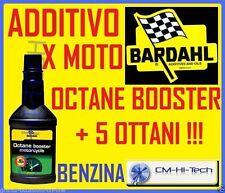 BARDAHL ADDITIVO BENZINA PER MOTO OCTANE BOOSTER MOTORCYCLE AUMENTA + 5 OTTANI°