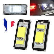 2X Éclairage de plaque d'immatriculation à LED Blanc Xénon pour BMW E46 18LED